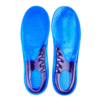 A pair of gel insoles to ease foot and heel pain