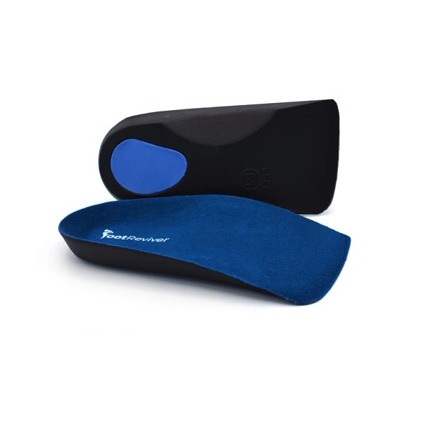 A pair of heel cups to help ease heel pain