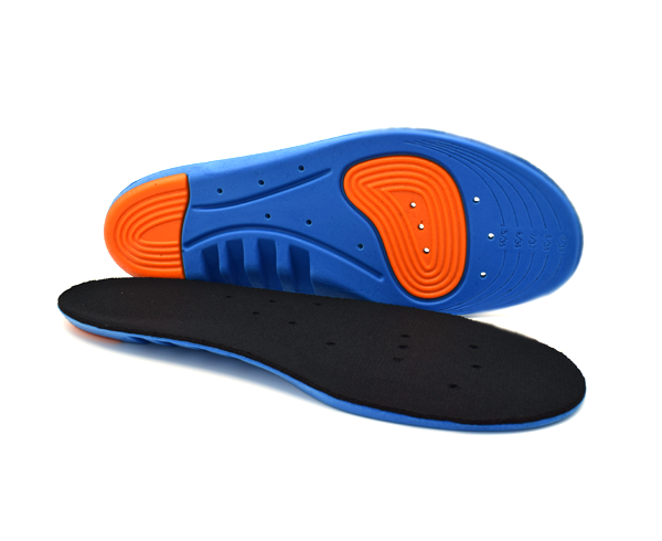 A pair of insoles for running