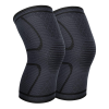 Knee compression support sleeves for sports & running